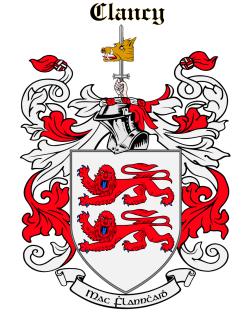 CLANCY family crest