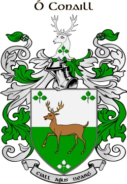 CONNELL family crest