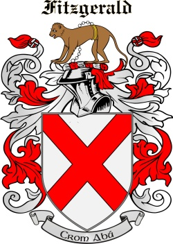 FITZGERALD family crest