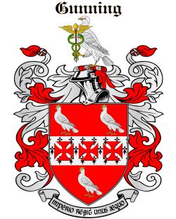 Gunning family crest