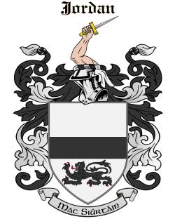 JORDAN family crest