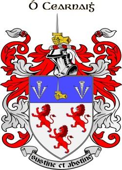 Kearney family crest