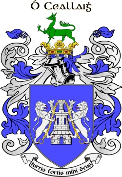 O'KELLY family crest