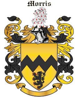 MORRIS family crest