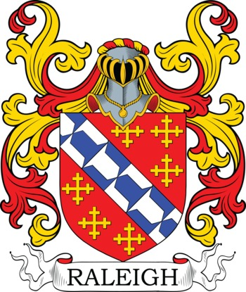RALEIGH family crest